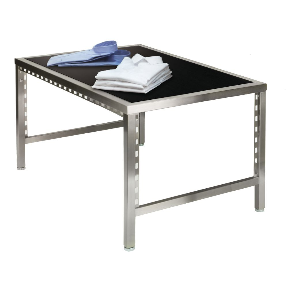 White Nesting Table For Retail Store ~ Pearl district small retail nesting table blakewood aspen