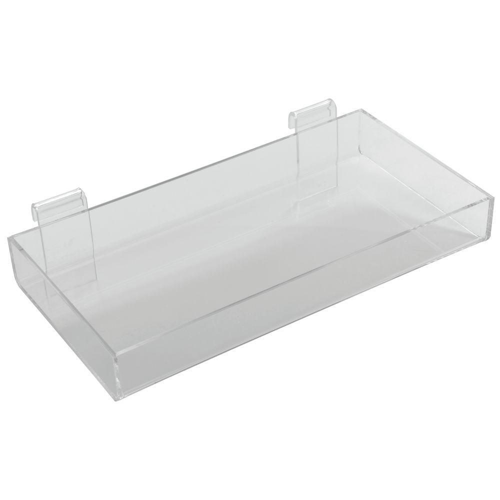 Acrylic Gridwall Shelf