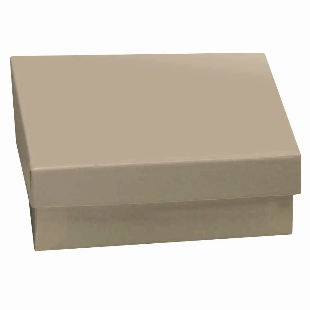Kraft Jewelry Gift Boxes 3 1 2 X 3 1 2 X 1 1 2