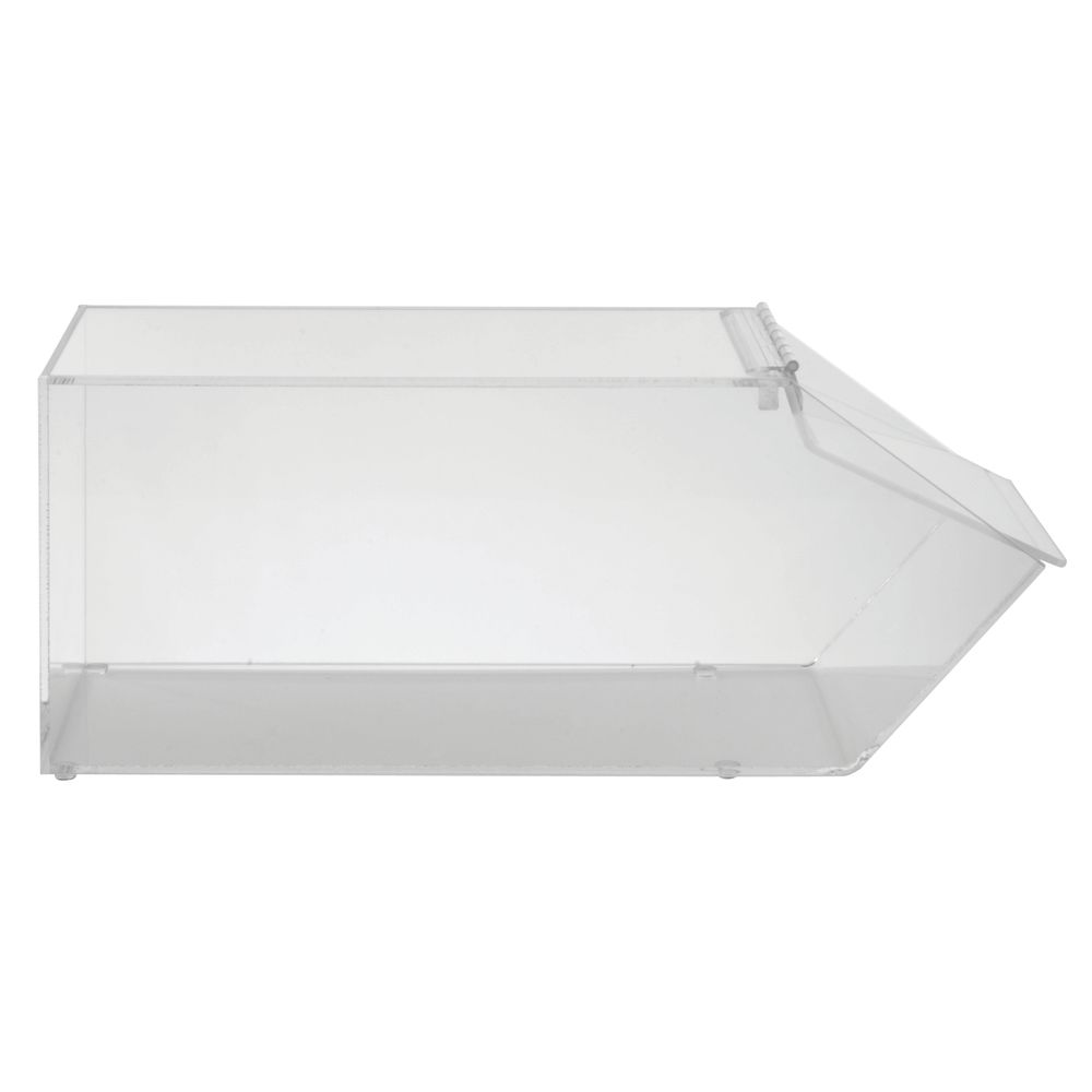 Clear Acrylic Display Box with Front-Hinged Lid