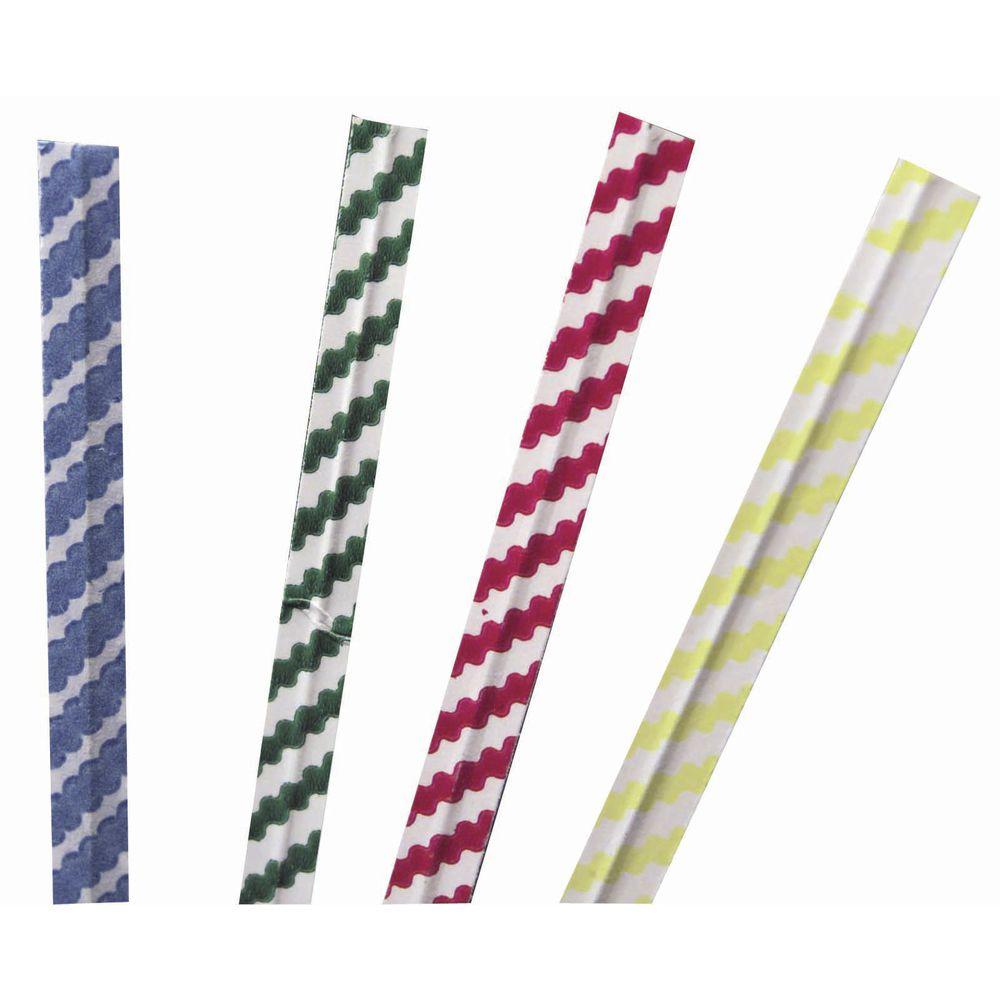 Blue Stripe Twisty Ties