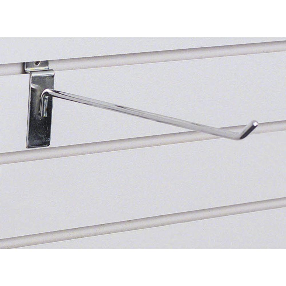 "12"" Chrome Slatwall Display Hooks"