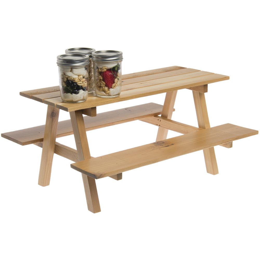 Mini Picnic Table Wood 20W x 15D x 10H |Mini Picnic Table Wood 20W x 15D x 10H |Mini Picnic Table Wood 20W x 15D x 10H |Mini Picnic Table Wood 20W x 15D x 10H