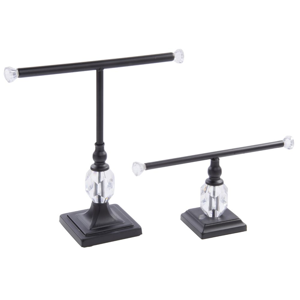 Black Jewelry T-Stands