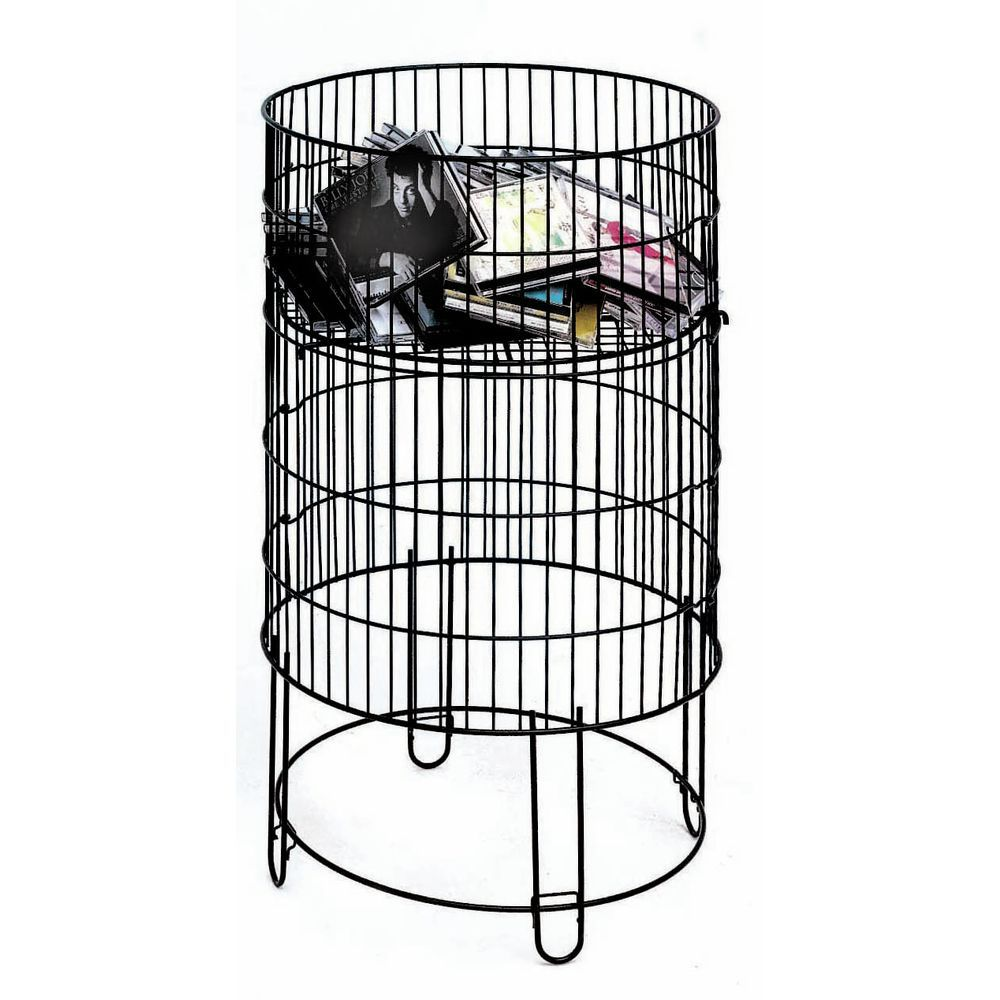 Wire Bin with Black Wire for Durability