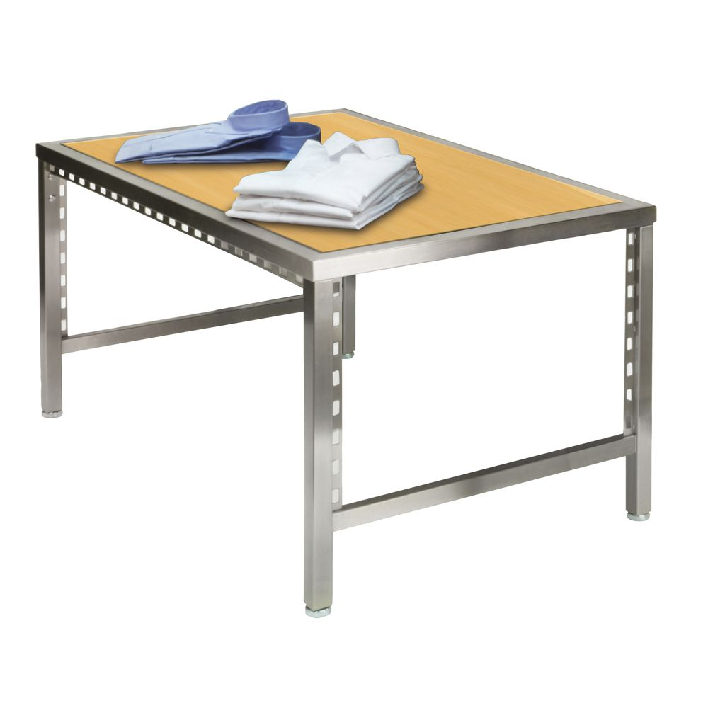 Retail Nesting Tables ~ Pearl district small retail nesting table maple espresso