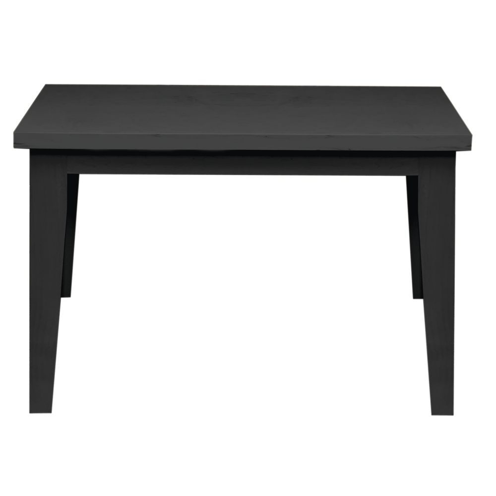 TABLE, NESTING, MD, BLACK, SOLID WOOD, 28H