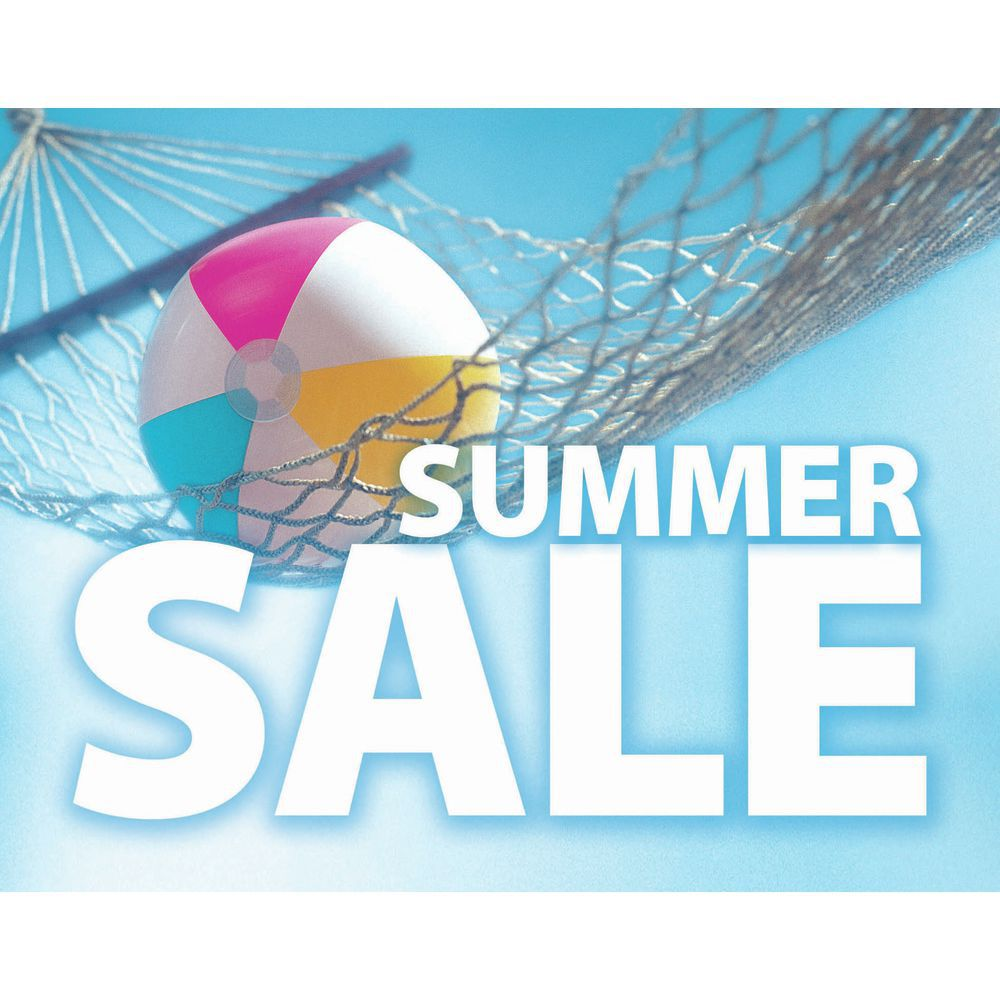 summer sale signs 7 x 5 1 2 l x h