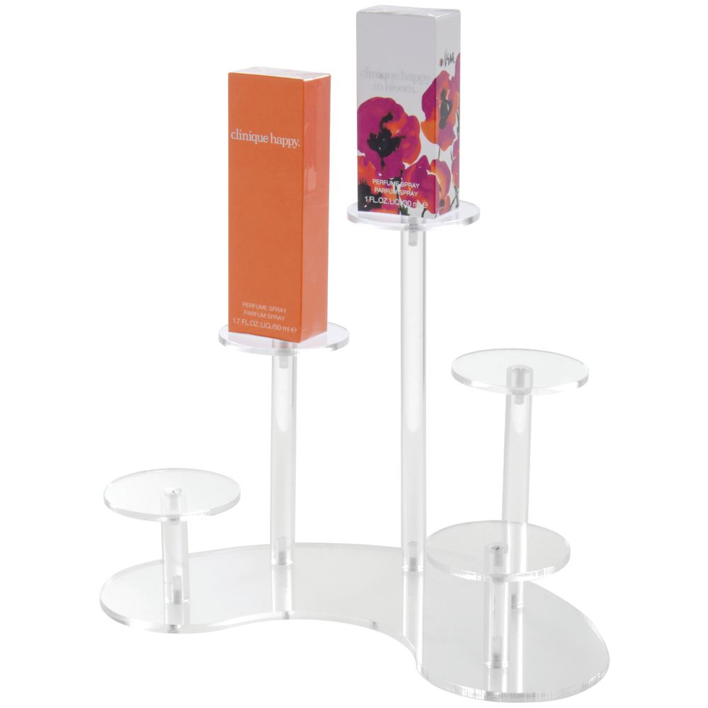 5-Pedestal Acrylic Display Stands