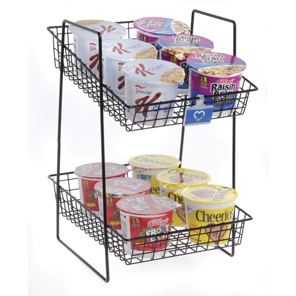 Sturdy Tiered Metal Stand is Long Lasting