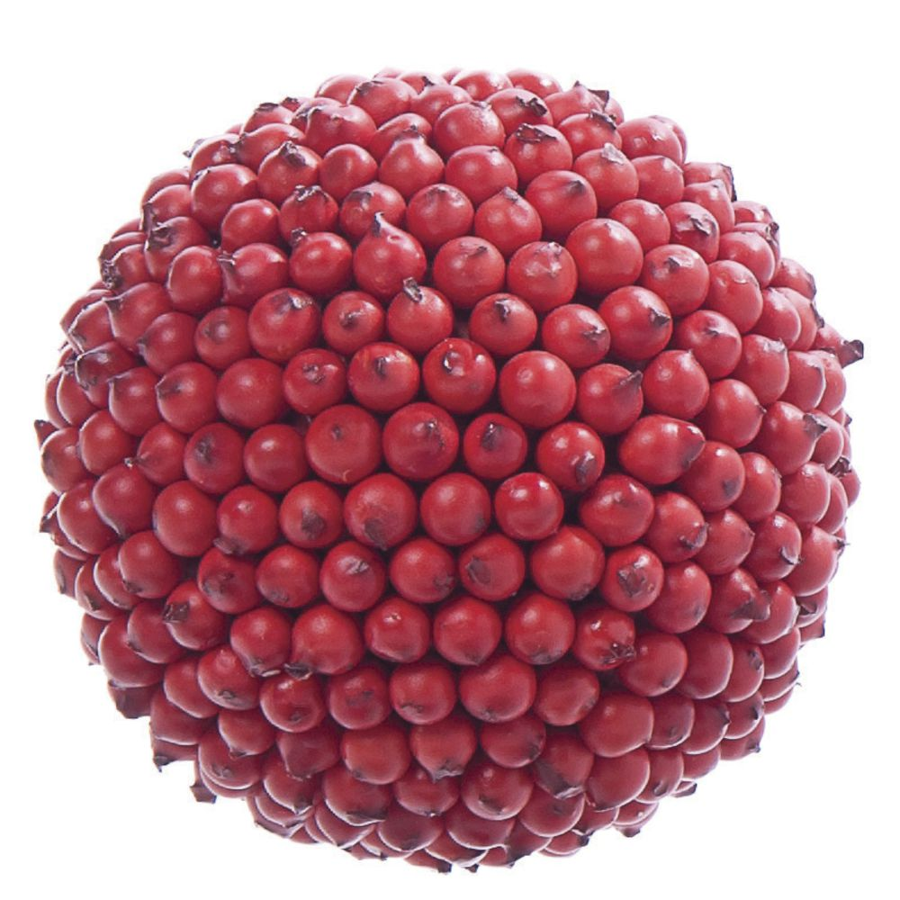 "Berry Balls Red 4""Dia"