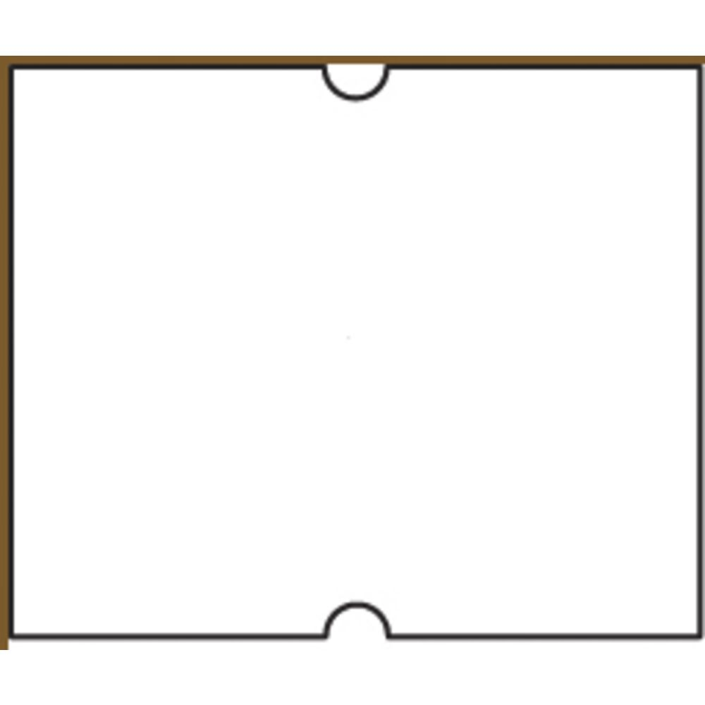 Productive Labels Plain White 2-Line, 8 Character Dating and Coding Gun  Labels