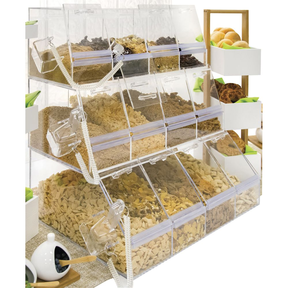Cereal Storage Containers Counter Set of 3 Units