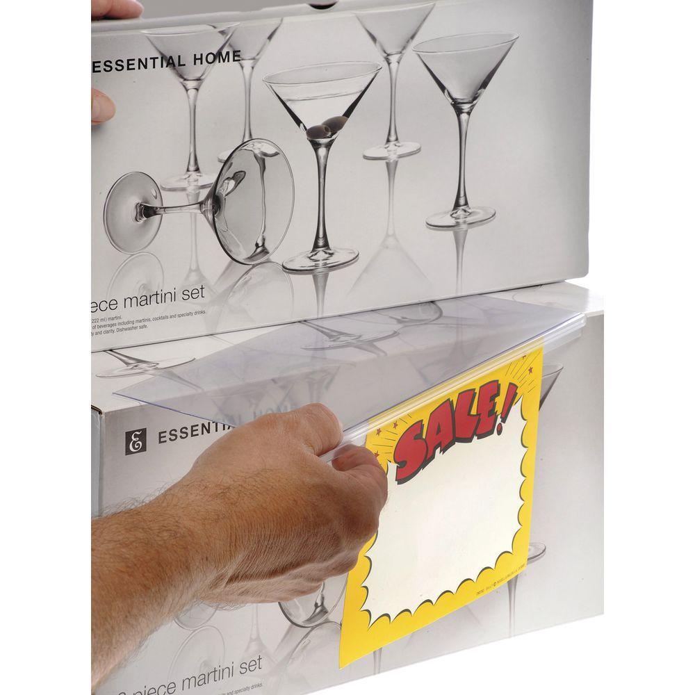 Plastic Shelf Sign Holder