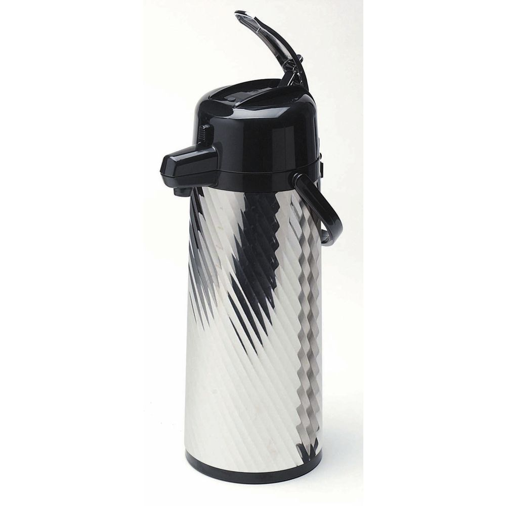 Service Ideas Eco-Air Airpot with Lever Lid Jeweled 2 1/5 L