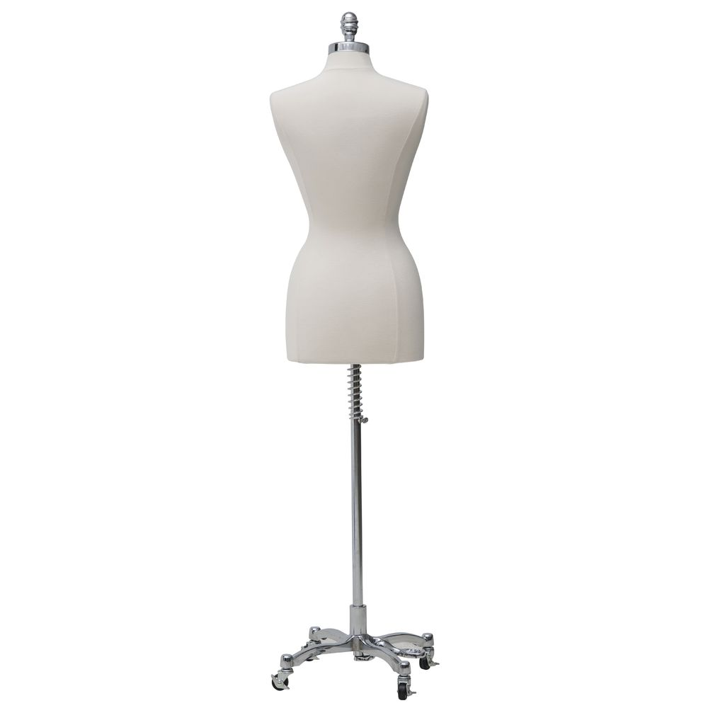Dress Form with Mobile Base
