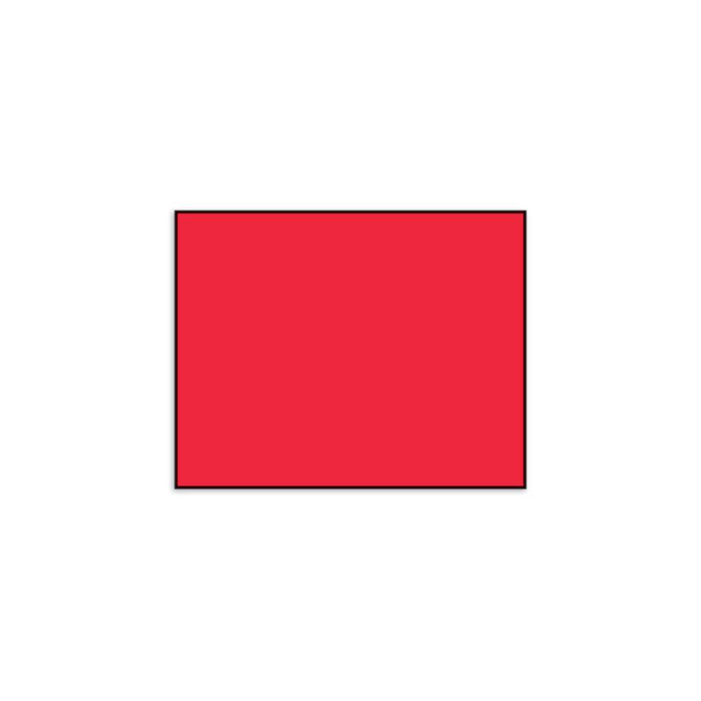 LABEL, PLAIN FLR RED, FOR ML1115
