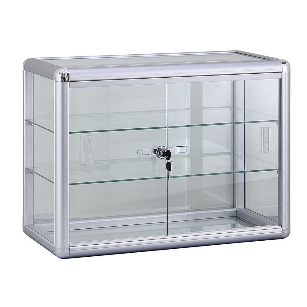 2 Shelf Display Case
