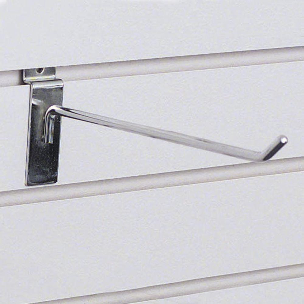 "8"" Chrome Slatwall Hangers"