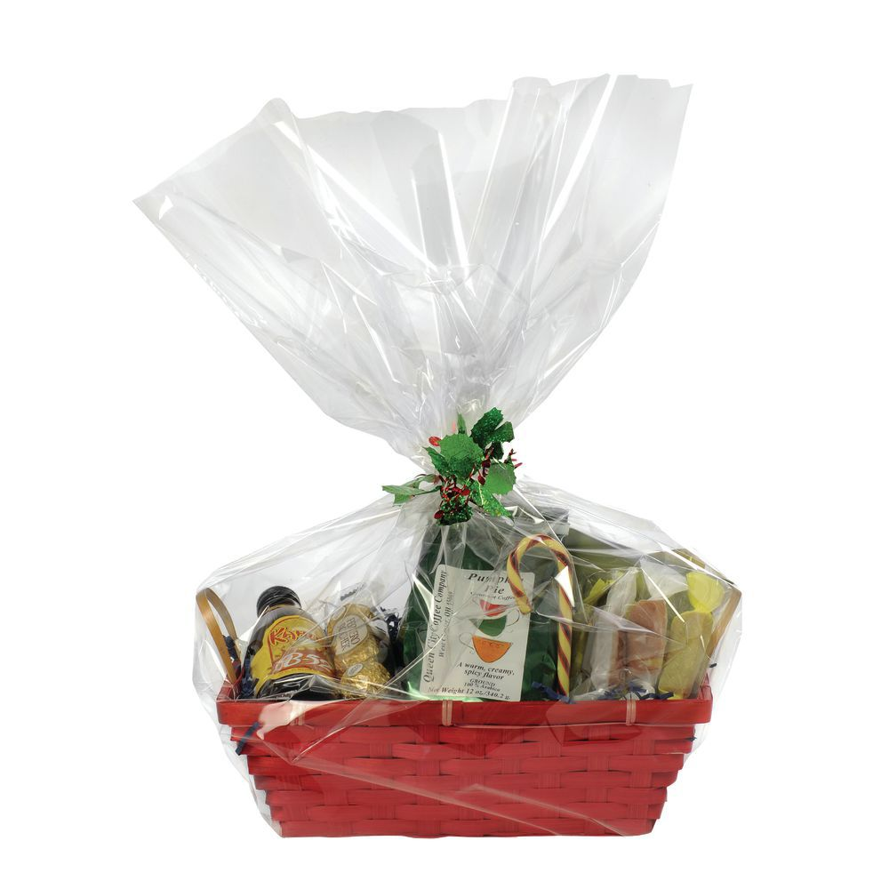 BAG, BASKET, CLEAR, 20WX24H