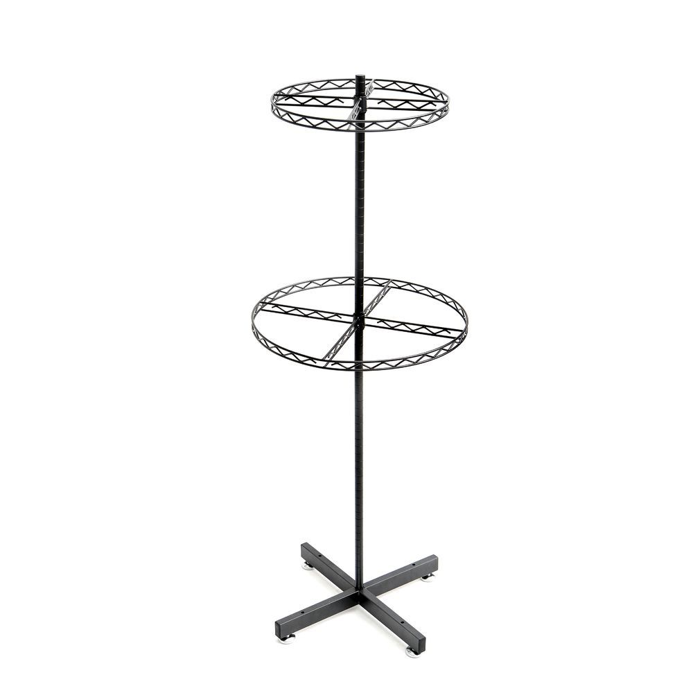 Round Clothing Rack is Great for Displaying a Variety of Products