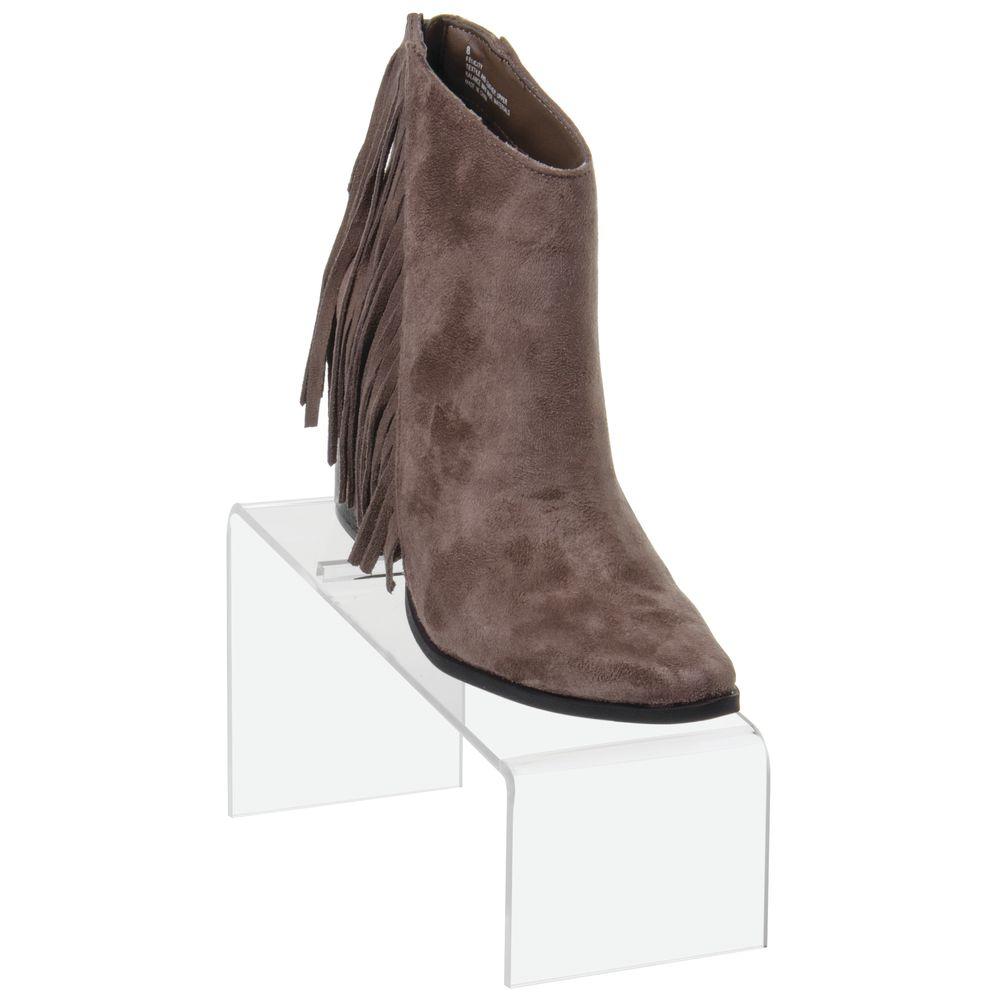 Acrylic Shoe Stand Slanted