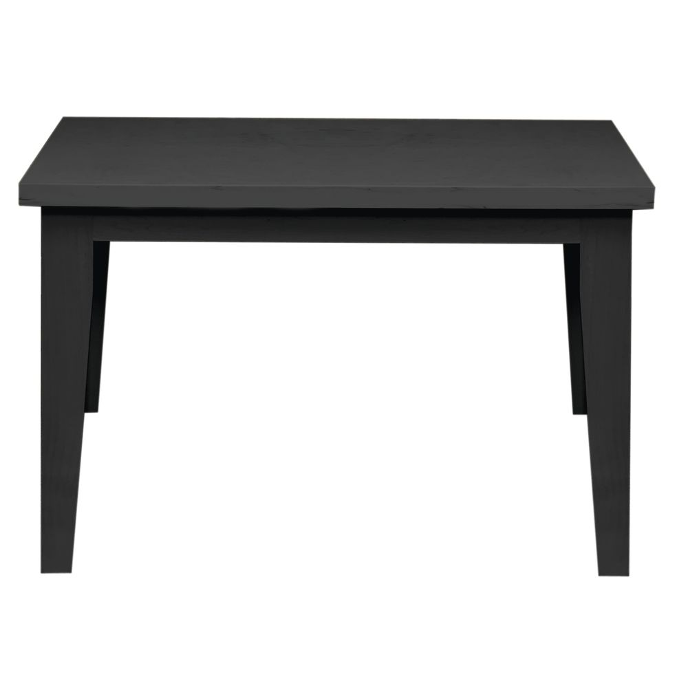 TABLE, NESTING, SM, BLACK, SOLID WOOD, 19.5H