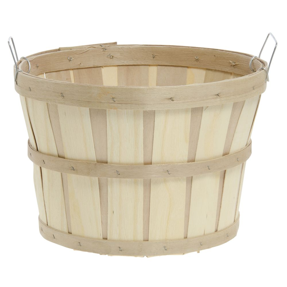 1/2 BUSHEL-PLAIN BASKET, W/2 SIDE HANDLES