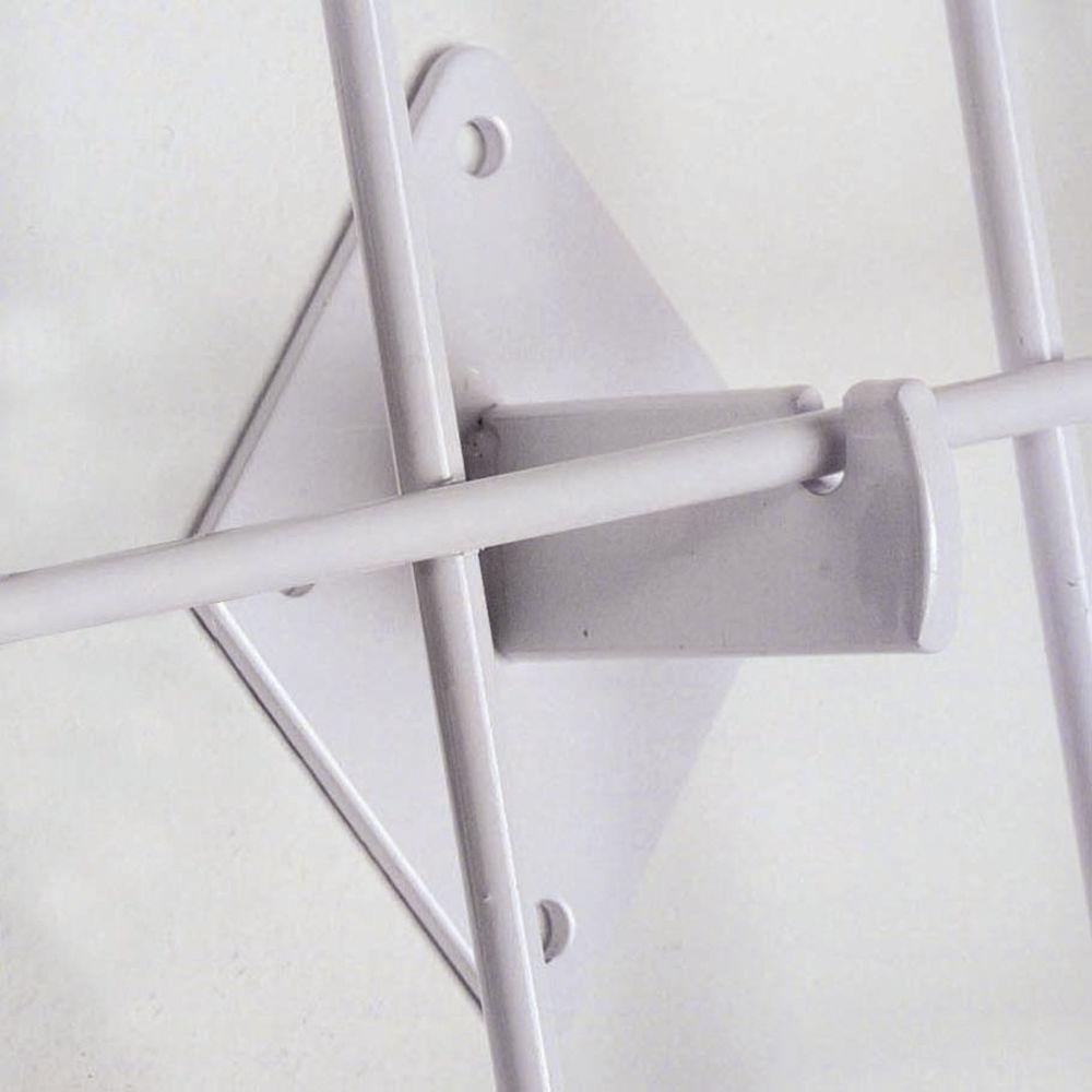 White Grid Brackets
