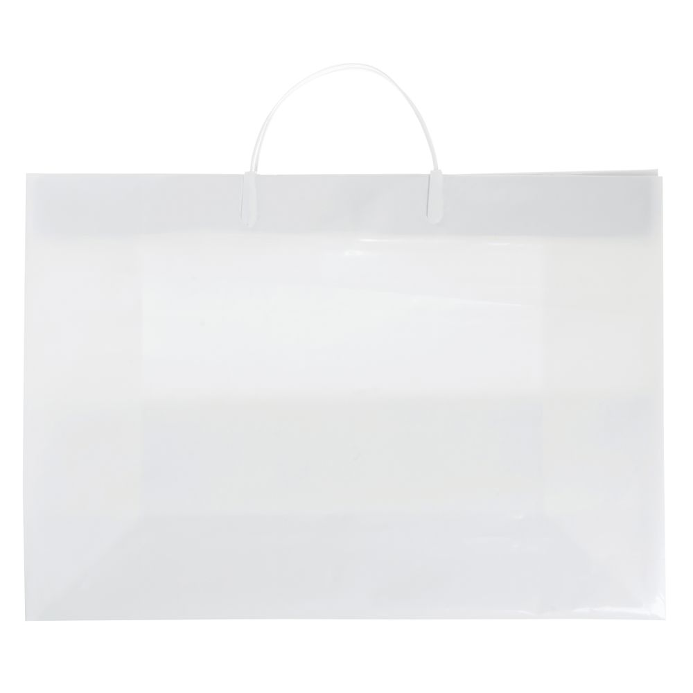 BAG, PLASTIC, 3MIL, 16X18X6, WHITE