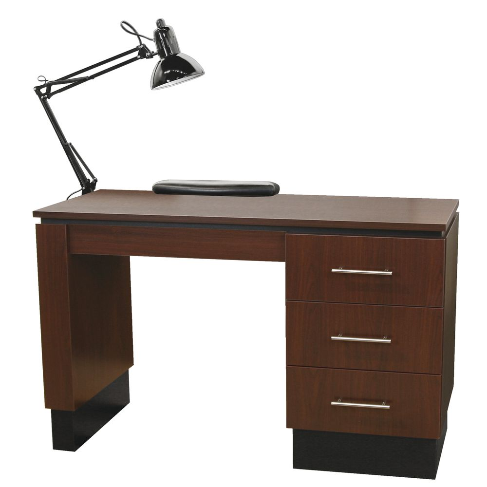 MANICURE TABLE, NEO, W/LAMP, ARM REST