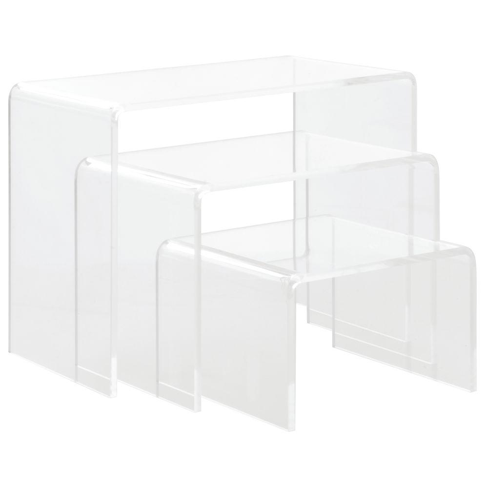 Acrylic Display Shelf with Nesting Shelves