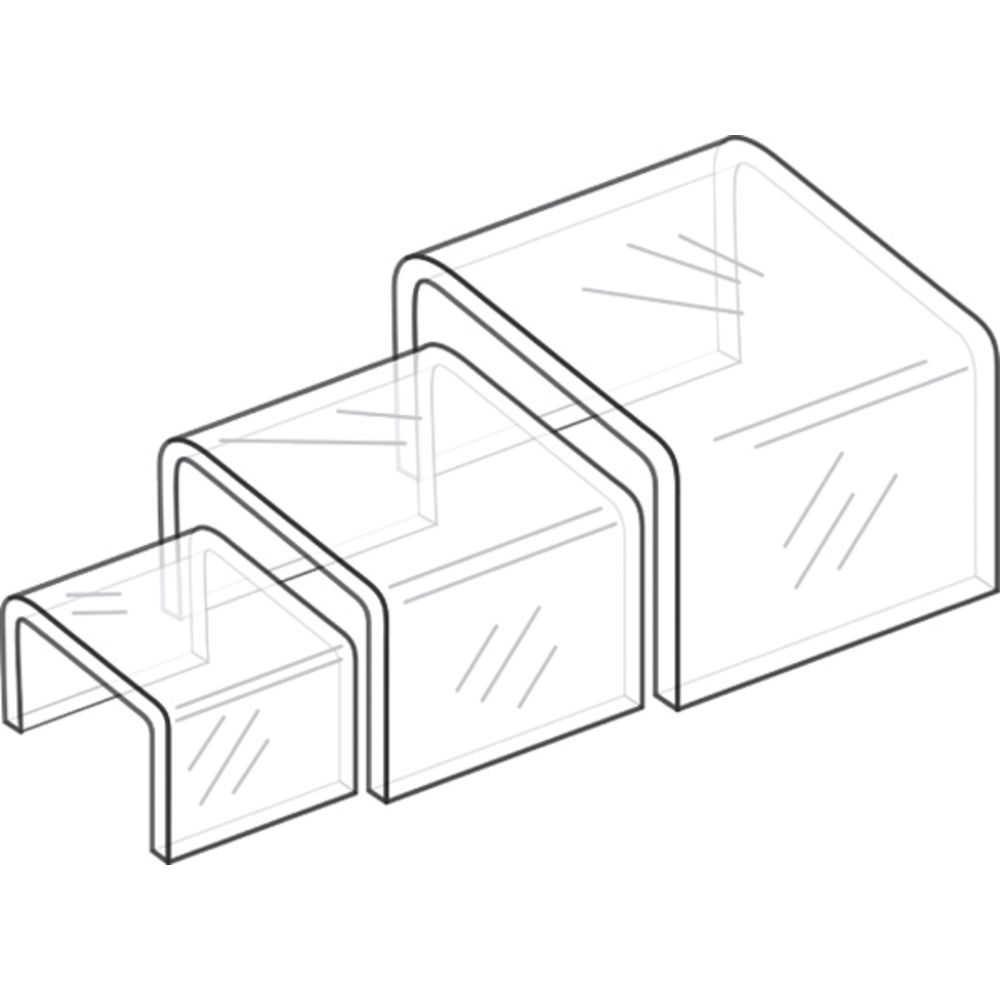 Medium 3-Piece Acrylic Display Shelf