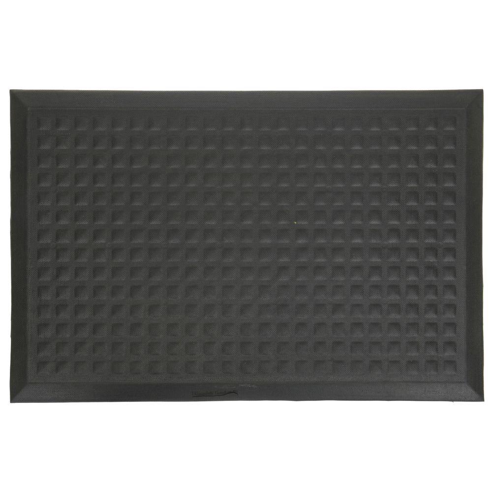 3 X 5 Anti Fatigue Mat Black