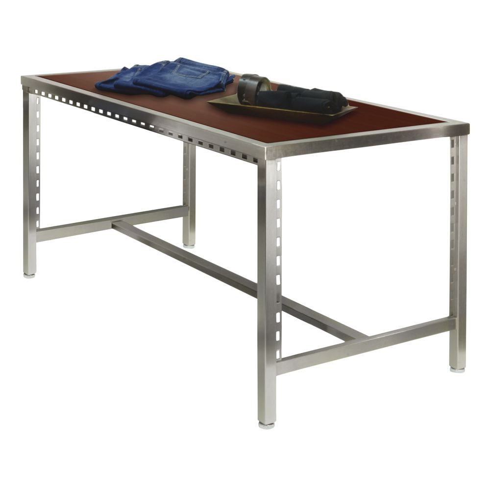 Pearl District Large Retail Nesting Table Maple Espresso