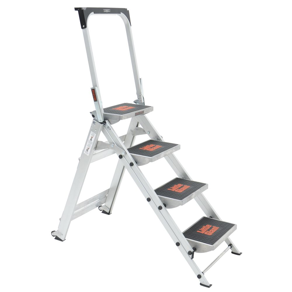 4 Step Safety Ladder With Handle
