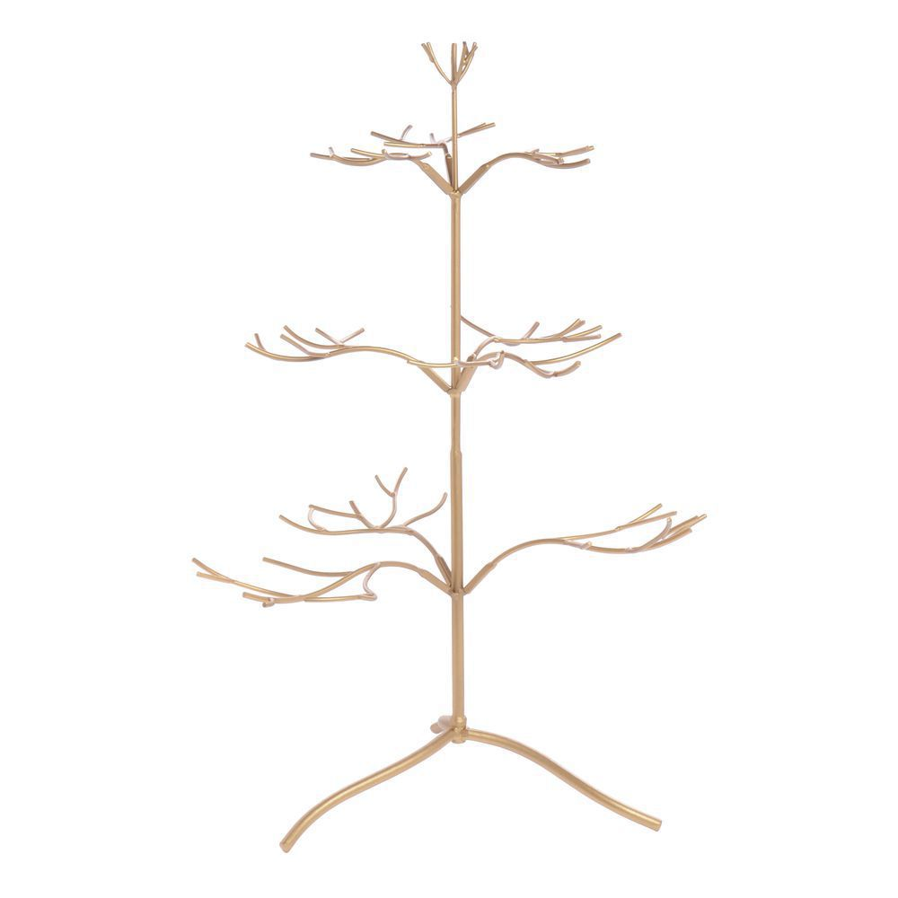 Gold Jewelry Display Tree, Smal