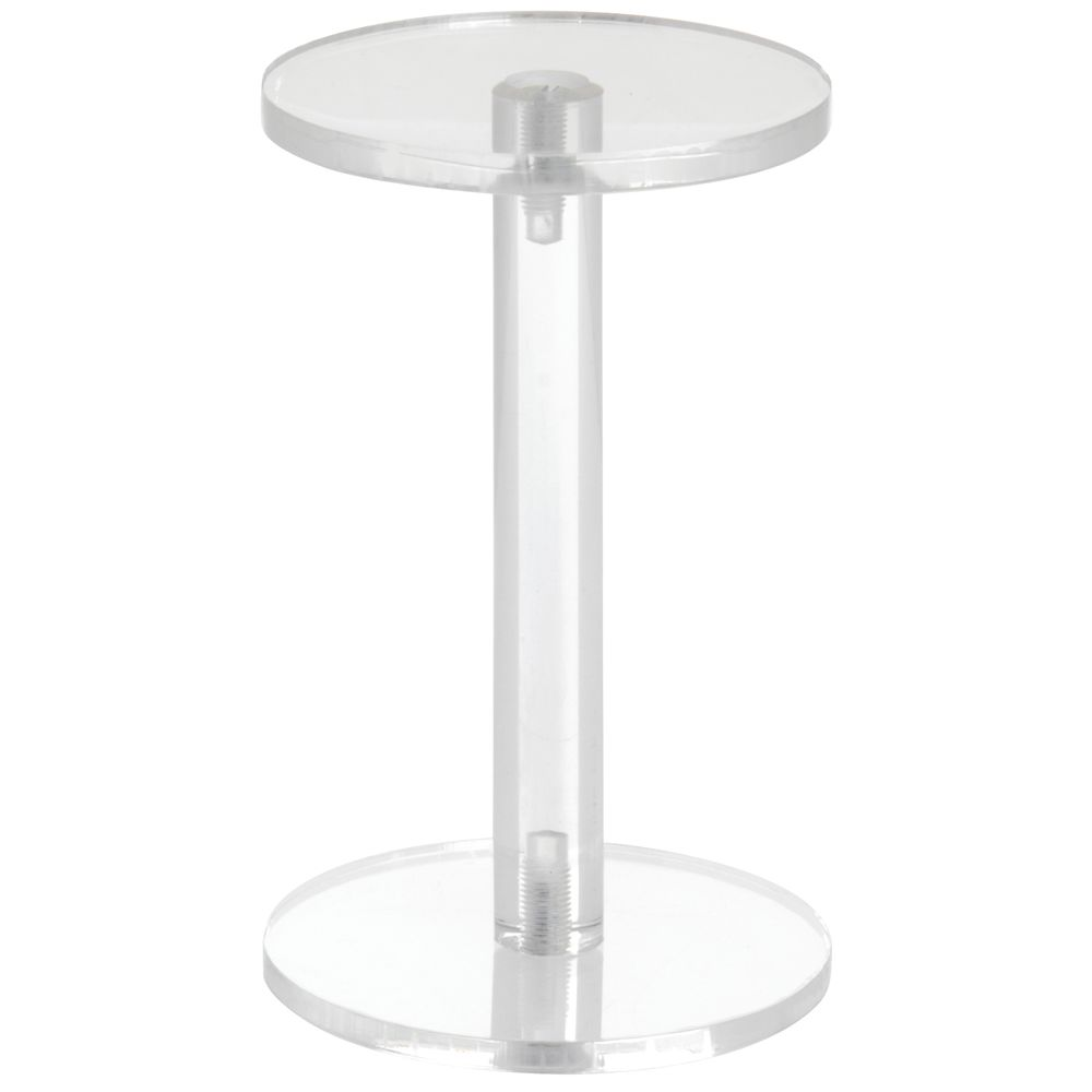 Clear Pedestal for jewelry, figurines and other small items