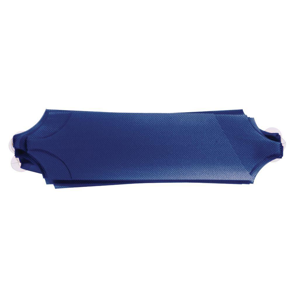 Navy Blue Flora-Satin Pull Bows