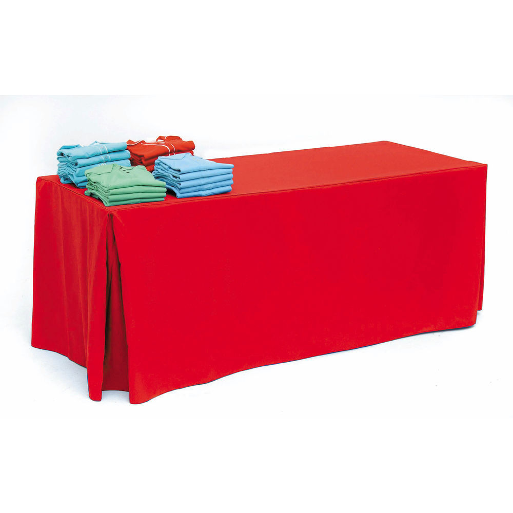 Holiday Red Tablecloth for 8ft Tables