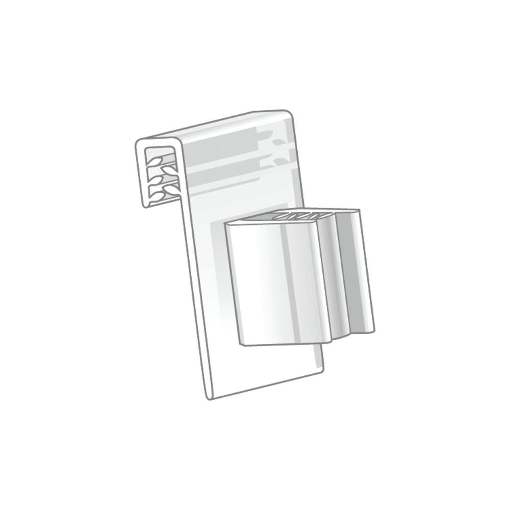 Right Angle Plastic Price Tag Holders