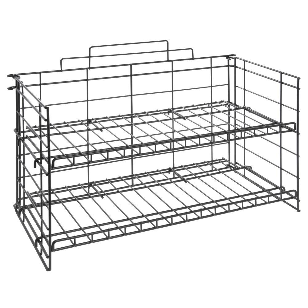 Black Wire Countertop Rack 20w X 10h