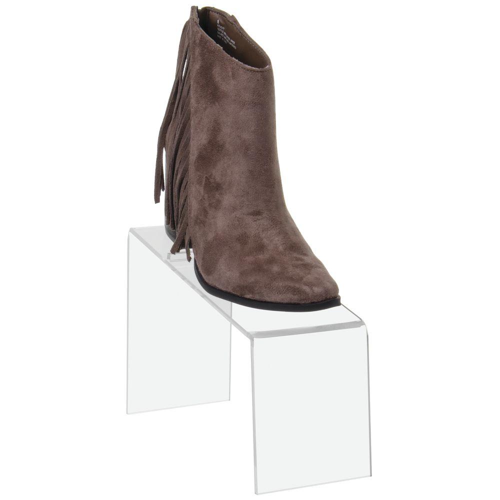 Acrylic Shoe Display Clear