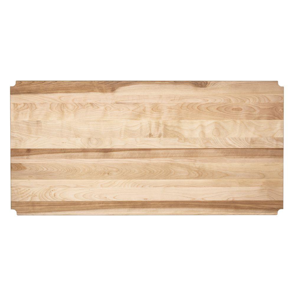 Butcher Block Shelf Inlay 48 X 24
