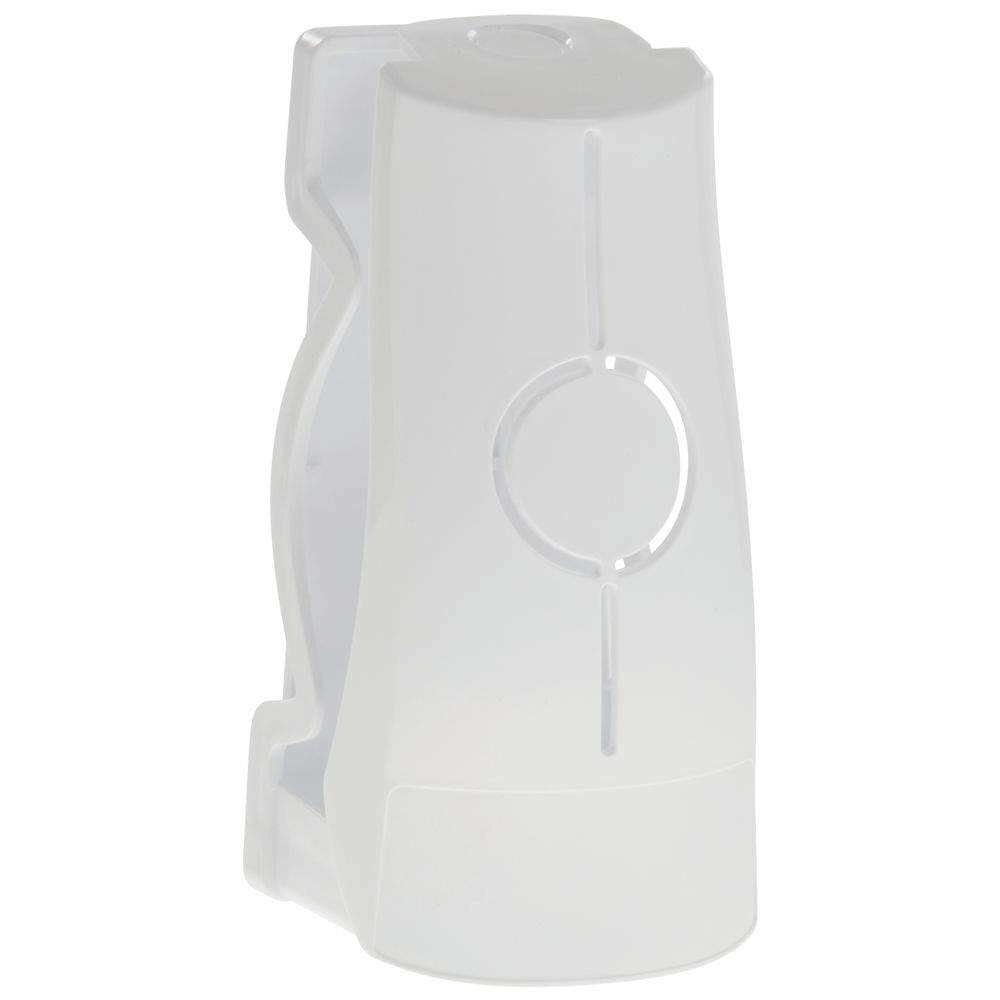 Deodorizer Holder White Plastic