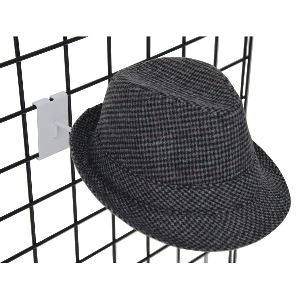 Grid Hat Displayer, White