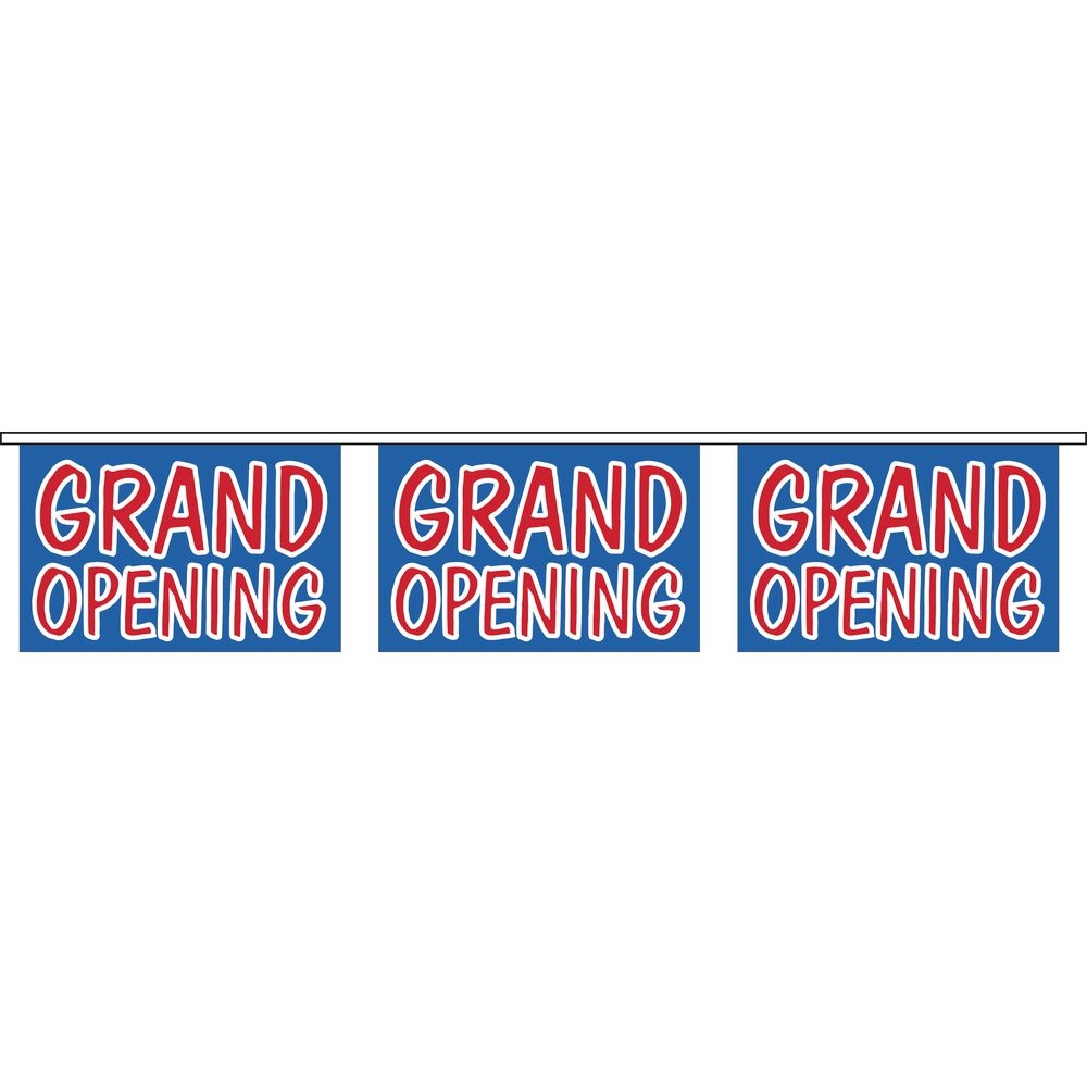 """Grand Opening"" Banner"