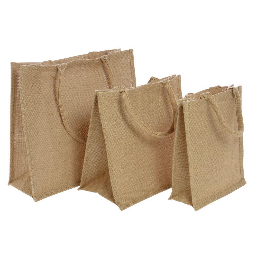 Large Jute Tote Bags