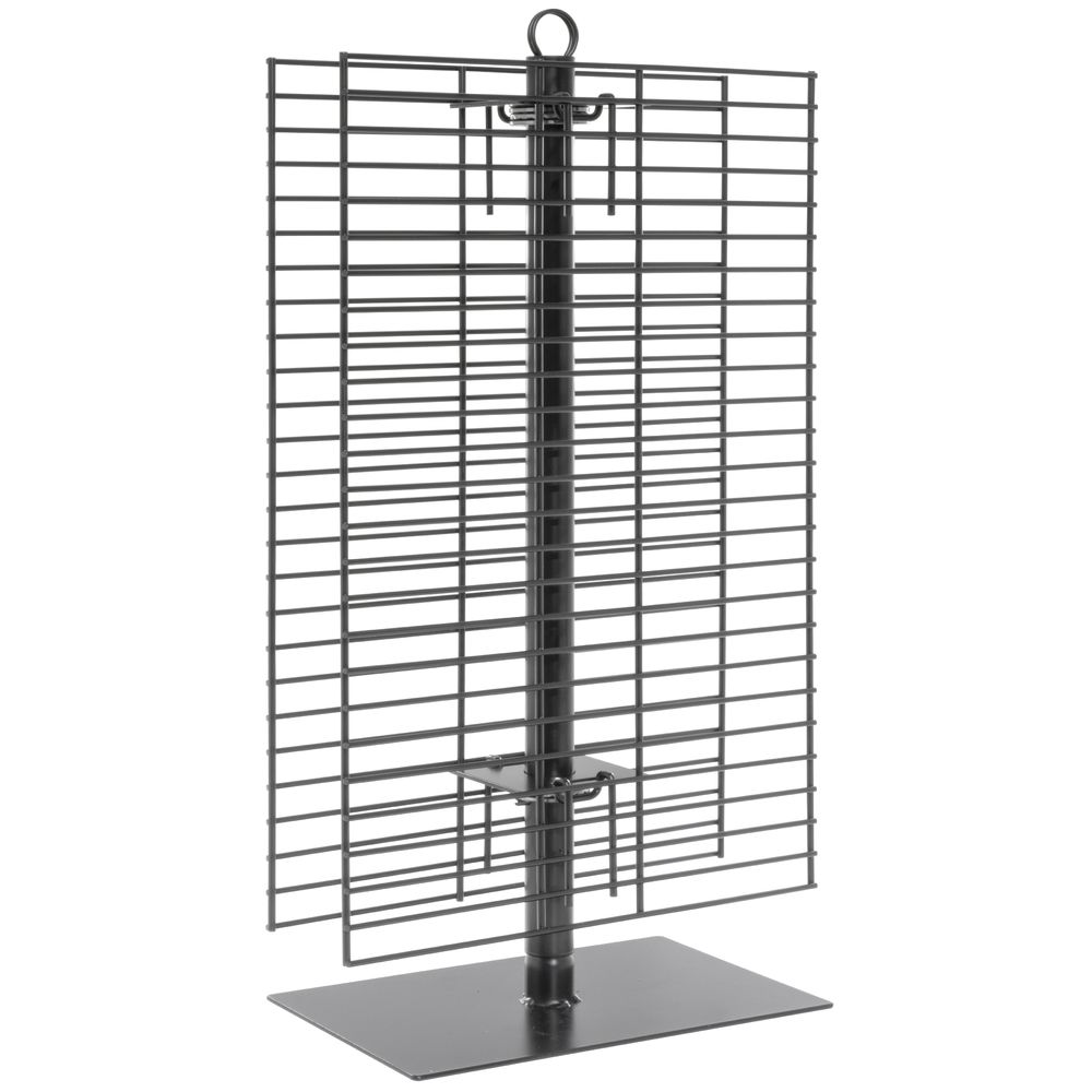 RACK, SPINNER, COUNTER, WIRE, BLACK