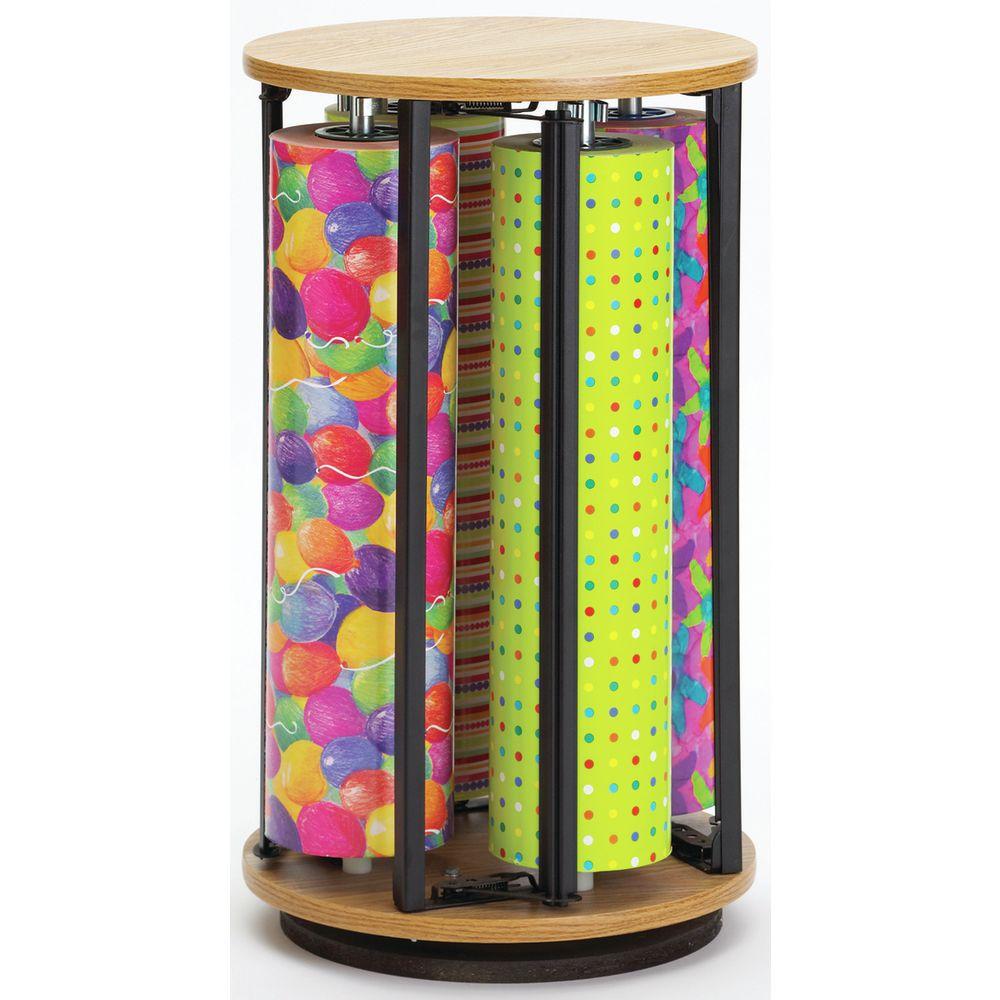 Rotating Gift Wrap Dispenser